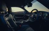 10 Porsche 911 GT3 2021 UK first drive review cabin