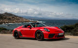 Porsche 911 Speedster 2019 first drive review - on the road front