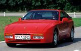 Porsche 944 S2 - hero front