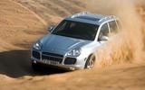 Porsche Cayenne - hero front