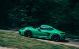 Porsche Cayman GTS - side