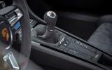 Porsche Cayman T 2019 first drive review - gearstick