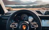 Porsche Macan 2019 first drive review - instruments