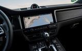Porsche Macan GTS 2020 first drive review - infotainment