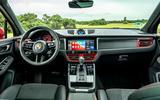 10 Porsche Macan GTS 2021 UK LHD first drive cabin