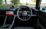 10 Porsche Taycan Cross Turismo 4S 2021 UK FD dashboard