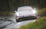 10 Porsche Taycan RWD 2021 UK first drive review on road front
