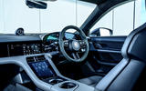 Porsche Taycan Turbo 2020 UK first drive review - dashboard