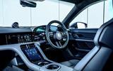 10 porshce taycan turbo 2020 uk fd dashboard