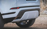 Range Rover Evoque 2019 first drive review - exhausts
