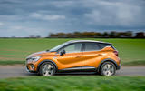 Renault Captur E-Tech PHEV RHD 2020 UK first drive review - on the road side
