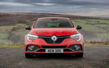 10 Renault Megane RS 300 EDC 2021 UK first drive review static nose