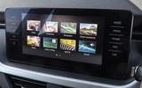 Skoda Kamiq 2019 UK first drive review - infotainment