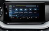 Skoda Octavia estate 2020 UK first drive review - infotainment
