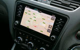 Skoda Octavia vRS Challenge 2019 UK first drive review - infotainment