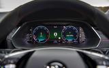 Skoda Octavia vRS Estate 2020 UK first drive review - instruments