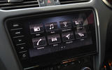 Skoda Octavia vRS diesel longterm review infotainment