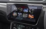Skoda Superb Estate Sportline 2020 UK first drive review - infotainment