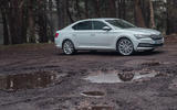 Skoda Superb IV 2020 UK first drive review - static