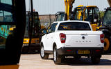 Ssangyong Musso EX 2019 UK first drive review - static rear