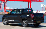 Ssangyong Musso Saracen 2018 first drive review flatbed closed