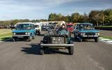 Steve Cropley Land Rover parade