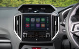 Subaru Impreza 2018 UK review Apple Carplay
