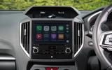 Subaru Impreza 2018 UK review Apple Carplay