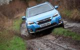 Subaru XV e-Boxer 2020 UK first drive review - mud