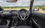 Suzuki Ignis hybrid 2020 UK first drive review - dashboard