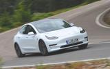Tesla Model 3 Standard range Plus 2019 first drive review - cornering