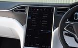 Tesla Model S 75D 2018 first drive review infotainment