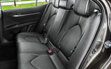 Toyota Camry 2019 European first drive review - rear seats