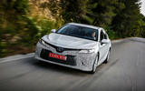 Toyota Camry 2019 first drive review on the road