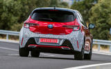 Toyota Corolla 2018 prototype first drive - cornering rear
