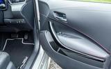 Toyota Corolla hatchback 1.8 hybrid 2019 UK review - door cards