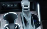10 Toyota Highlander 2021 UK first drive review gearstick