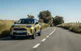 10 Toyota Yaris Cross 2021 UK LHD preprod tracking front