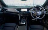 10 Vauxhall Insignia GSI 2021 UK first drive review dashboard