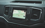 Volkswagen Amarok Aventura 2019 first drive review - infotainment