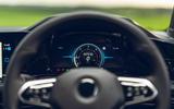 10 Volkswagen Golf GTD 2021 UK first drive review instruments