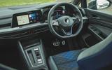10 Volkswagen Golf R performance pack 2021 UK FD dashboard