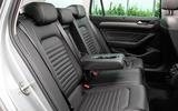 Volkswagen Passat GTE Estate 2019 first drive review - rear seats