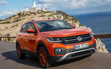 Volkswagen T-Cross 2019 first drive review - on the road front