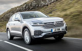 Volkswagen Touareg 2020 UK first drive review - hero front