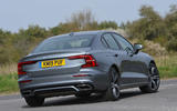 Volvo S60 T5 2019 UK first drive review - cornering rear
