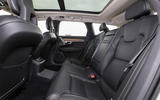 Volvo V90 B5 2020 UK first drive review - rear seats