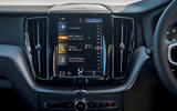Volvo XC60 B5 2020 UK first drive review - infotainment