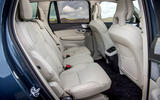 Volvo XC90 B5 petrol 2020 UK first drive review - middle row