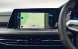 10 VW Golf GTI Clubsport 2021 UK first drive review infotainment